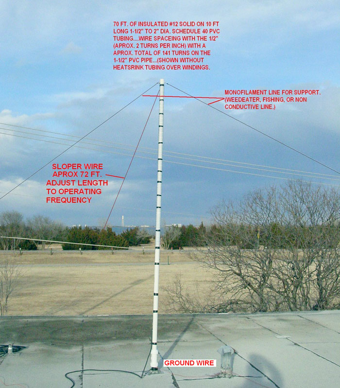 A 160 meter antenna for small lot - Ham Radio Library