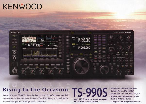 The Name should be TS-990 and it will be also presented in ham radio 2012 in ...
